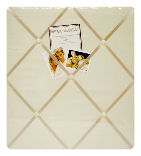 Haven A602-20 Ivory Twill Memo - Memo Photo Bulletin Board