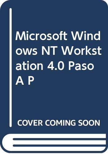Microsoft windows nt workstation V.4.0 por Catapult
