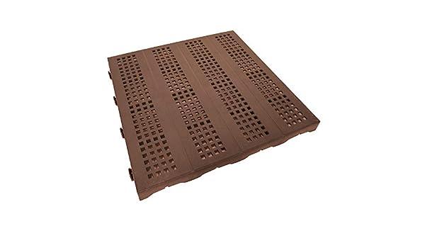 ONEK X192 Azulejo de plástico Perforado 40 x 40 cm 30.72 m² ...