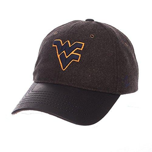 - Elite Fan Shop WVU West Virginia Mountaineers Wool Icon Hat - Charcoal