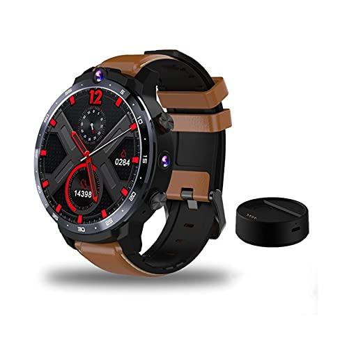 GPS Smart Watch 1,6 inch Volledig scherm 4G WiFi Android 7.1 Gezichts-ID Dubbele camera's Intelligente polsband SIM…