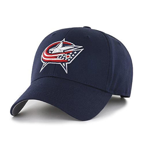 - OTS NHL Columbus Blue Jackets All-Star MVP Adjustable Hat, Navy, One Size