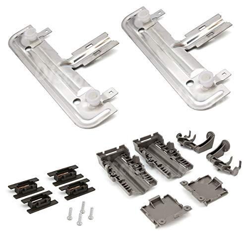 Kit Discount - W10712394 Dishwasher Upper Rack Adjuster Kit - For Whirlpool Kitchenaid - Replaces AP5956100, PS10064063, W10238418, W10253546, W10712394VP
