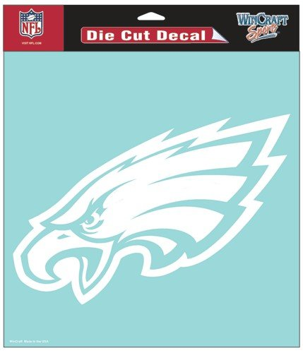 Wincraft Philadelphia Eagles Decal (NFL Philadelphia Eagles WCR25655061 Perfect Cut Decals, 8