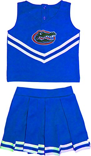 University of Florida Gators Toddler and Youth 3-Piece Cheerleader Dress]()