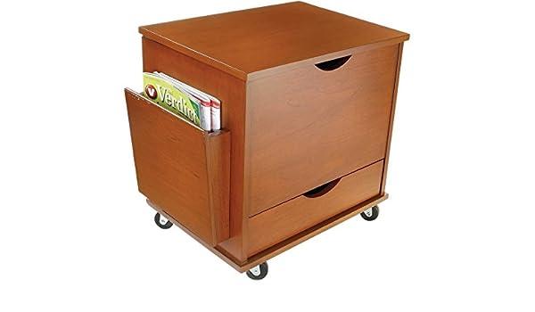 Mini archivador medios de comunicación de almacenamiento estantería torre armario muebles de oficina: Amazon.es: Hogar