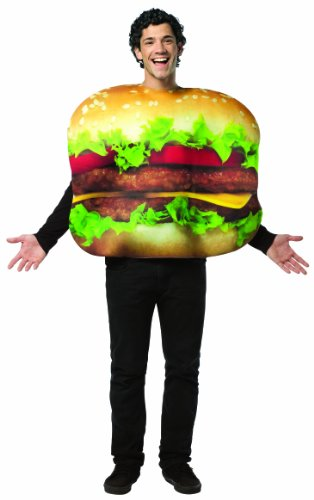 Rasta Imposta Cheeseburger Costume, Multi-Colored, One (Cheeseburger Child Costumes)