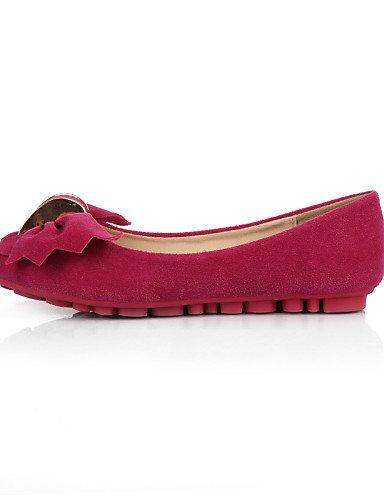 morado cerrado Casual PDX Toe zapatos tipo amarillo ante Punta plano us9 Mocasín Redonda de Flats de cn41 rosa eu40 talón mujer azul pink uk7 qC6UP7q