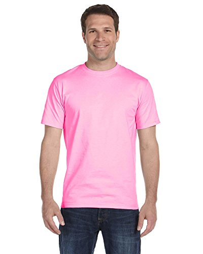 Gildan mens DryBlend 5.6 oz. 50/50 T-Shirt(G800)-HELICONIA-2XL (Gildan 50 50 Dryblend T Shirt 8000)