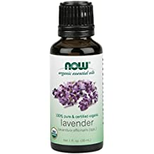 NOW  Organic Lavender Oil, 1-Ounce