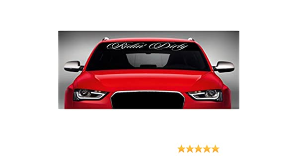 Colorado Fun Decal  Windshield Banner Vinyl Lettering 40/""