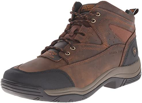 Ariat Men's Edge Dark Brown Bantamweight Lace Up Hiker Shoe