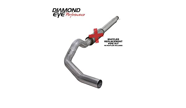 """Stainless Steel 4/"""" Turbo Back Exhaust System 94-97.5 Ford F250 7.3L Diesel Truck"""