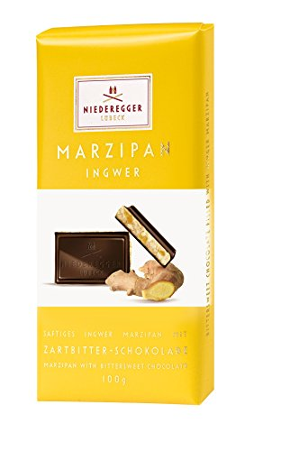 Niederegger Marzipan Classic Bar, Ginger, 3.5 Ounce (Pack of 12) by Niederegger