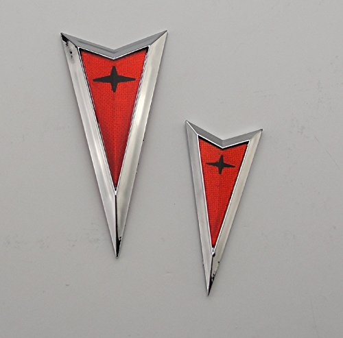 Rear Bumper Emblem (Pontiac GTO Front/Rear Bumper Emblem Kit - Chrome)