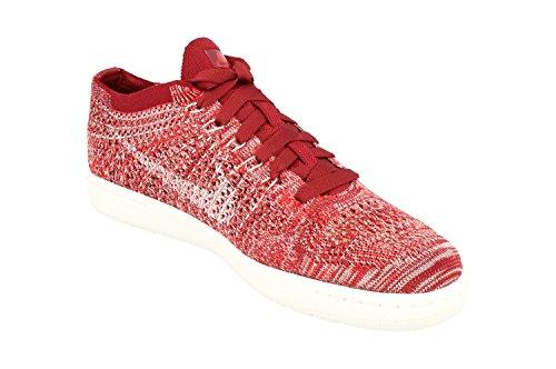 Zapatillas De Deporte Nike Mujeres Tennis Classic Ultra Flyknit Running 833860 Sneakers Zapatos (us 10.5, Equipo Rojo, Blanco 600)