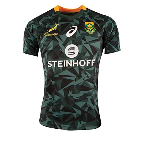 DLGLOBAL New Rugby Knights Jerseys 18-19 South Africa Rugby Jerseys Green ()
