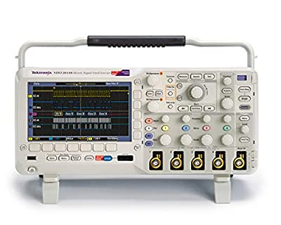 Mixed Signal Oscilloscope, 70 MHz, 1 GS/s Sample Rate, 1 M points Length, 5 Year Warranty
