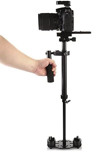 Generic S40 Handheld Camera Stabilizer Aluminum Alloy, Sprit Level, Adjustable Mounts