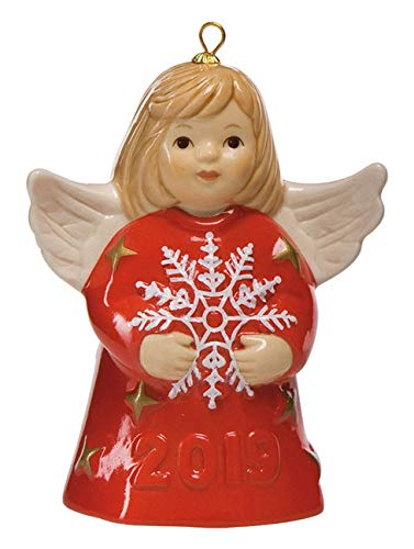 2019 Goebel Annual Angel Bell - CHERRY RED - 44th Edition - New