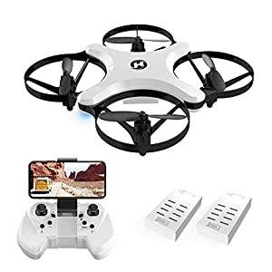Holy Stone HS220 FPV RC Quadcopter Drone with Camera Live Video, WiFi APP Control, Altitude Hold, Headless Mode, One Key Take Off/Landing, 3D Flips, Foldable Arms,Wing and Folding Flight Modes by Holy Stone