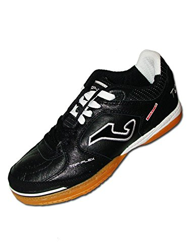 Joma Top Flex Indoor (8.5, Black/White) (Shoes Soccer Mens Joma)