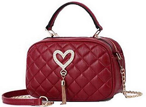 tracolla Nero cerniere Borse Donna a Chiaretto Dacron Festa AllhqFashion Shopping FBUIBC181830 7q4z6z0