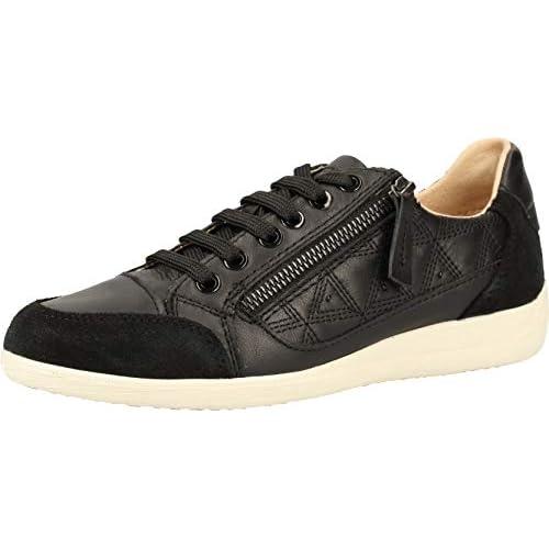 chollos oferta descuentos barato Geox D Myria C Zapatillas para Mujer Negro Black C9999 35 EU