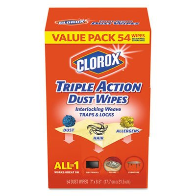 CLO31312 CLOROX PROFESSIONAL DUSTER,TRIPLE ACTION WIPE