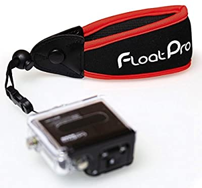 FloatPro GoPro & Waterproof Camera Float. #1 Best Floating Wrist Strap On The Market. Full 1-Year Warranty.