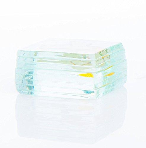 Handgefertigter Briefbeschwerer aus Glas,ca.5x5cm,Taube B019EXPVR0 | Zart  Zart  Zart  a60402