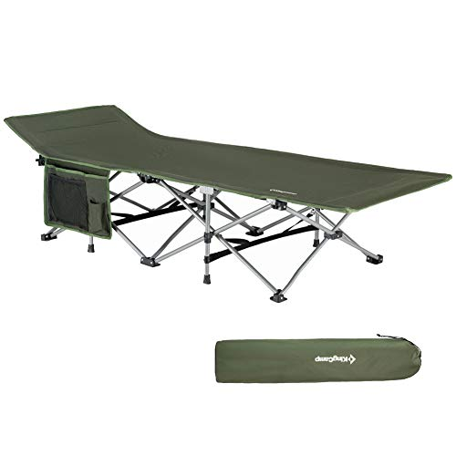 KingCamp Folding Camping Cot for Adults -