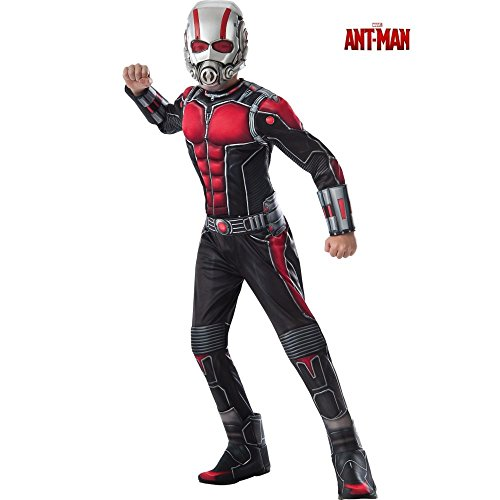 Ant-Man Deluxe Costume, Child's Large (Ant Man Costumes)