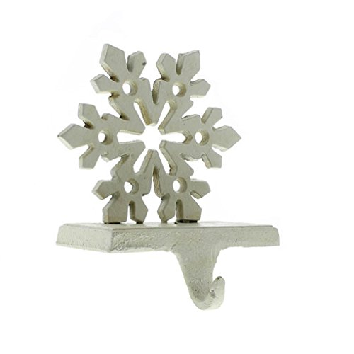 Snowflake Stocking Holder - Cast Iron by My Swanky Home (Image #3)