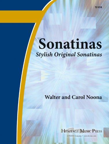 Sonatinas: First Book of Sonatinas: Stylish original sonatinas for the developing pian ist (Educational Piano (First Sonatina Book)