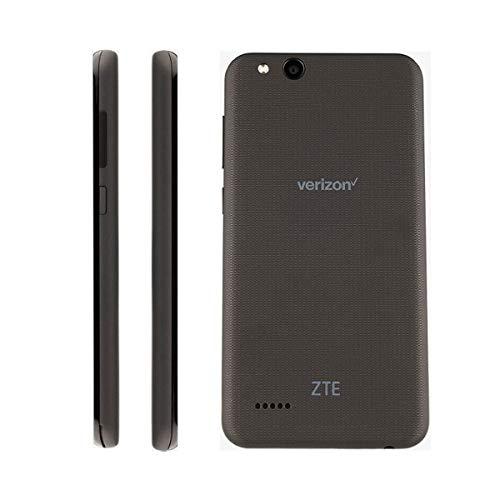 ZTE VZW-Z839PP Blade Vantage 5 16GB 1.1GHz 2GB Prepaid LTE Verizon Smartphone, Black, Carrier Locked to Verizon Prepaid 16GB Phone +5X Memory Bundle (16 GB) (16 GB + 64 GB SD Bundle)