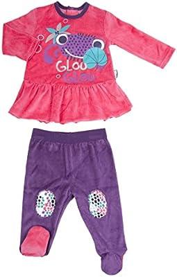 55fc9f19e91c6 Petit Béguin - Pyjama bébé fille 2 pièces Glouglou Family Girl ...