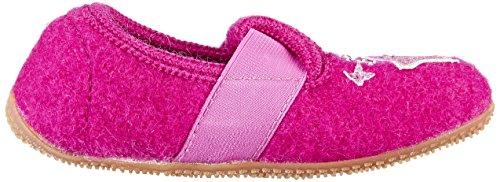 Living Kitzbühel Mädchen T-Modell Einhorn & Stern Aurora Hausschuhe Pink (Purple Wine)