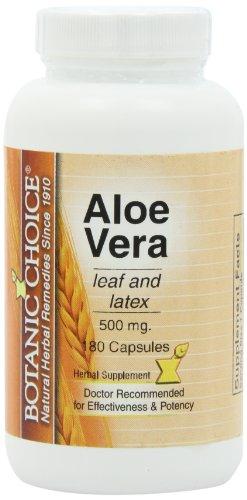 Botanic Choice Aloe Vera 500mg 180 Capsules