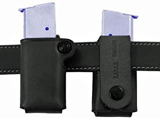 product image for Galco Single Magazine Pouch 40 S&W, 9mm Double Stack Metal Magazines Leather