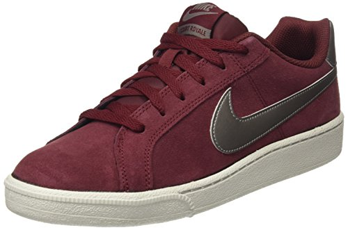 Royale Court Bone Uomo Red Rosso Mtlc Team da Pewter Dark NIKE Light Suede Ginnastica Scarpe g565qd