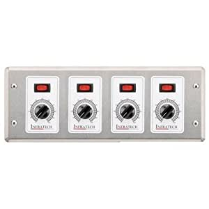 Infratech Solid State 4 Zone Remote Analog Control