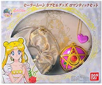 Bandai Sailor Moon – Sailor Moon Juego 1 Romantic estuche con horquillas y espejo Womens, 84418: Amazon.es: Juguetes y juegos