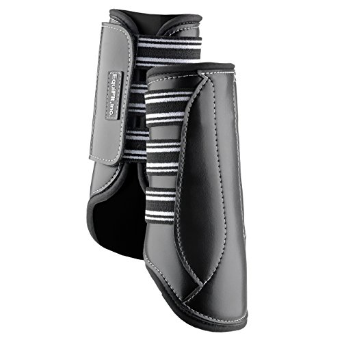 EquiFit MultiTeq Front Boots - Black (Large) by EquiFit