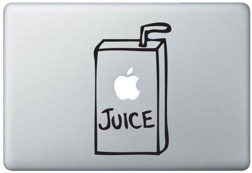 apple juice macbook air decal - 5