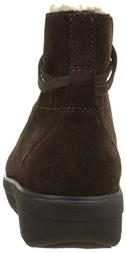 Up Chocolate FitFlop Ankle Loaff Lace Brown Boot Womens 6xt1wqT