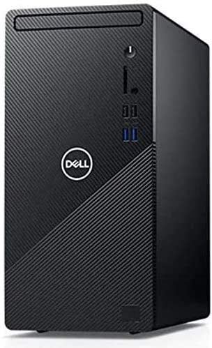 Dell Inspiron Business Flagship Desktop Computer, Intel Octa-Core i7-10700 up to 4.8GHz, 12GB DDR4, 256GB SSD, USB 3.2, HDMI, VGA, WiFi, Bluetooth, Windows 10, TWE Accessory Bundle