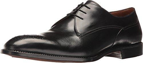 gravati-mens-blucher-w-perforated-medallion-black-shoe