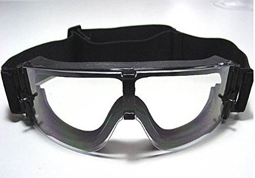 Lancer Tactical CA-231B Airsoft Safety Goggles - Framless / Clear Lens by Lancer Tactical