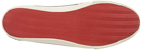 Seavees Mænds Westwood Tennissko Afslappet Sneaker Skifer Flåde Salt Vasket Lærred X76y4p